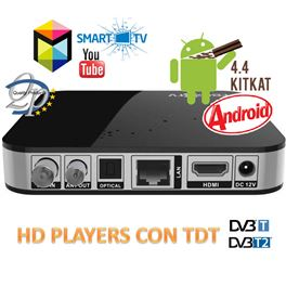 SmartTV Android 4.4 + TDT FBOX3TV - FBOX3-TV